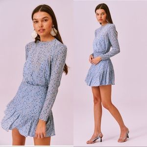 NWT Finders Keepers Blossom Long Sleeve Minidress